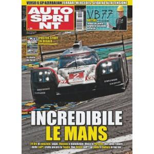 Autosprint - settimanale n. 25 - 20 Giugno 2017 Incredibile Le Mans