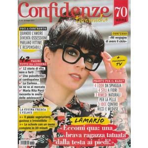 Confidenze - settimanale n. 26-20 giugno 2017 Lamario: tatuata dalla testa ai...