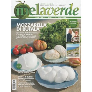 """Melaverde - mensile n. 5 Giugno 2017 """"Mozzarella di bufala"""""""