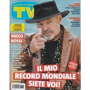 """Sorrisi e Canzoni Tv - settimanale n. 26 - 20 Giugno 2017 """"Vasco Rossi"""""""