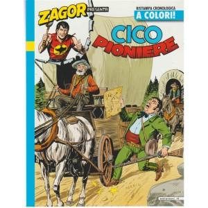 """Zagor Presenta CICO Pioniere"""" - ristampa cronologica a colori n. 25"""