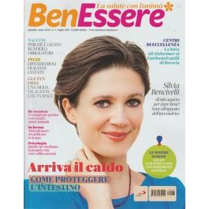 """Benessere (La Salute con l'anima) - mensile n. 7 luglio 2017 """"Silvia Bencivelli"""""""