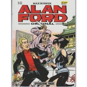 Alan Ford Original  mensile n. 577 di Max Bunker - Operazione Tokio