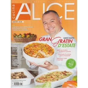 "Alice Cucina - mensile n. 7 Luglio 2017 ""Marco Valletta Gran gratin d'estate"""