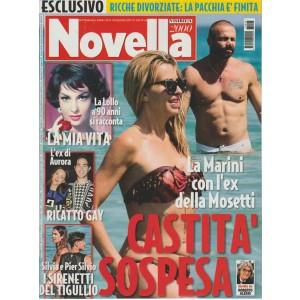 Novella 2000 - settimanale n. 26-29 Giugno 2017-La Marini con l'ex della Mosetti