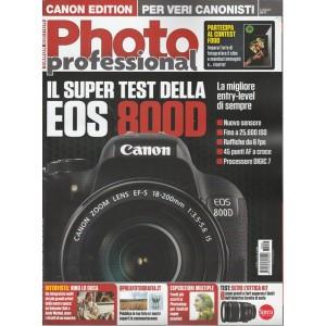 Professional Photo (Canon edition)mensile n.92 Luglio 2017-Il Super Test Eos800D