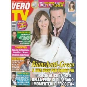 Vero Tv - settimanale n. 26 -3Luglio 2017 Bianchetti - Greco conforto nella fede
