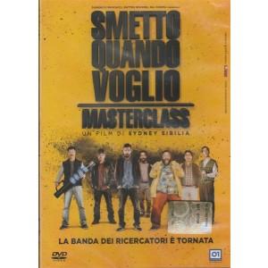 """DVD Smetto quando voglio """"MASDTERCLASS"""" un film di Sydney Sibilia"""