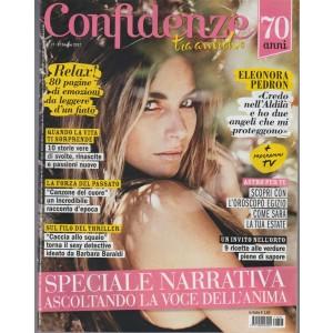 Confidenze - settimanale n.27 - 27 Giugno 2017 Eleonora Pedron credo nell'aldilà