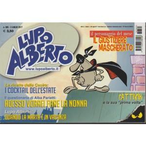 """Lupo Alberto - mensile n.385 - Luglio 2017 """"Il Giustiziere mascherato"""""""