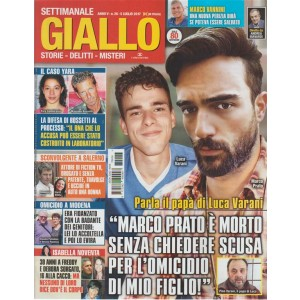Giallo - settimanale n. 26 - 5 Luglio 2017 La difesa di Bossetti al processo