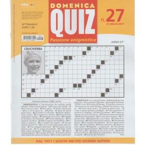 Domenica Quiz - settimanale n. 27 - 6 Luglio 2017
