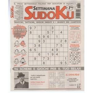 Settimana Sudoku - n. 620 - 30 giugno 2017