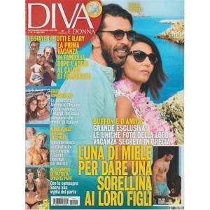 Diva e Donna  - settimanale n. 26 - 4 Luglio 2017 Buffon e D'Amicoin Grecia
