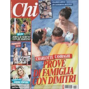 Chi - settimanale n. 28 - 28 Giugno 2017 Charlotte Casiraghi con Dimitri