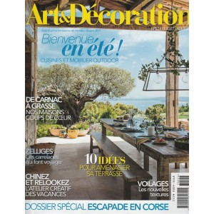 Art & Décoration - mensile n. 524 Luglio 2017 - ed. Francese / italiano