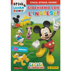 Panini Attacca Stacca - Stick & Learn - Giochiamo con l'Inglese  vol.1 - 07/2017
