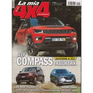 La mia Auto 4X4 - bimestrale n. 4 Luglio 2017 - Jeep Compass Trailhawk
