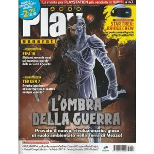 "Play Generation - mensile n. 143 Agosto 2017 ""L'ombra della guerra"""