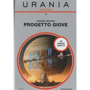 Progetto Giove - di Frederic Brown - collana Urania Millemondi vol.78