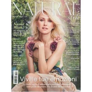 Natural Style - mensile n. 169 Luglio 2017 Naomi Watts e le mie fragilità