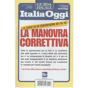 Guida Italia Oggi - La Manovra Correttiva - legge 96 di conversione del DL 50
