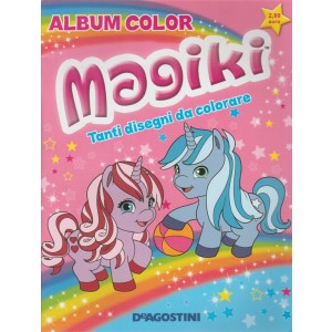 Magiki album color De Agostini Tanti disegni da colorare