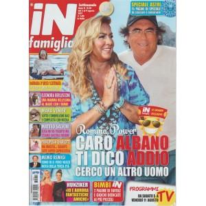 In Famiglia - settimanale n.30 -3 Agosto 2017 - Romina Power Cerco un'altro uomo
