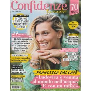 Confidenze - Settimanale n. 32 - 1 Agosto 2017 Francesca Dallapè