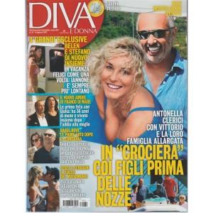 Diva e Donna - settimanale n. 31 - 8 agosto 2017 - Antonella Clerici in crociera