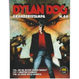 Dylan Dog Granderistampa - Bimestrale n. 66 Agosto 2017 -292 pagine!