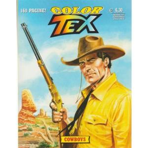 """Tex Color - semestrale n. 11 Agosto 2017 """"Cowboys"""" - 160 pagine"""