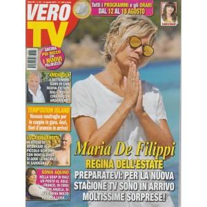 Vero Tv - settimanale n.32 -14 Agosto 2017 - Maria De Filippi regina dell'estate