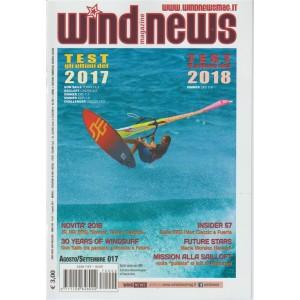 Wind News magazine - mensile n.6/7 Agosto 2017 - Novita 2018:JP,NP,RRD,Simmer...