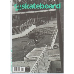 4 (for) Skateboard - bimestrale pocket n. 84 Agosto 2017 by Actionsport