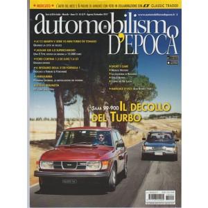Automobilismo Epoca - mensile n. 8/9 Agosto/settembre 2017