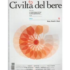 Civiltà del Bere - Bimestarle n. 7/8 Luglio 2017 - Rosa, Rosati e Rosè
