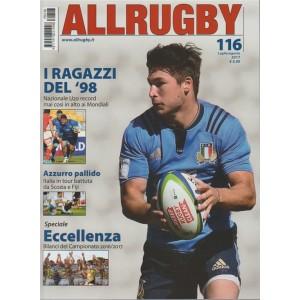 All Rugby - mensile n. 116 Luglio 2017  I ragazzi del '98
