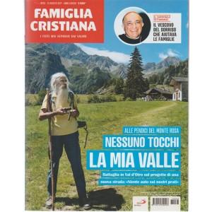 Famiglia Cristiana-settim.n.33-13 Agosto 2017- i Fatti mai Separati dai valori