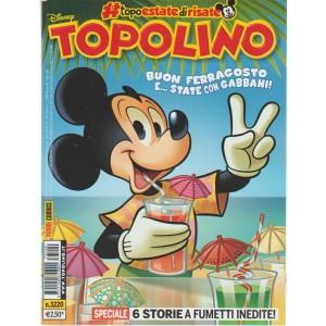 Disney Topolino - settimanale n.3220 - 9 Agosto2017 Sei storie a fumetti inedite
