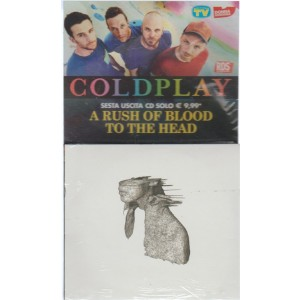 6° CD Coldplay - A rush of blood to the head - by sorrisi e Canzoni TV