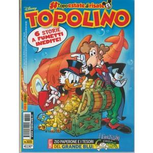 Disney Topolino - settimanale n. 3221 - 18 Agosto 2017 6 fumetti inediti!