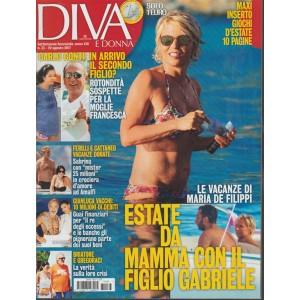 Diva e Donna - Settimanale n.33 -22 Agosto 2017 - Le vacanze di Maria De Filippi