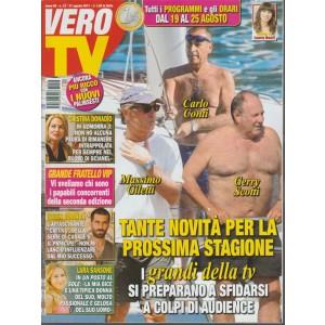 Vero Tv - settimanale n. 33 - 21 Agosto 2017 Cristina Donadio in Gomorra 3