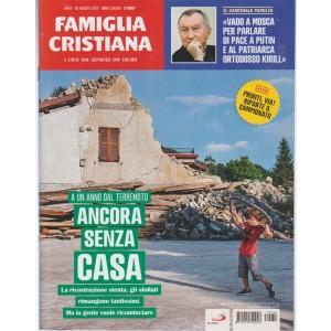 Famiglia Cristiana-settimanale n.34-20Agosto2017-i Fatti mai separati dai valori