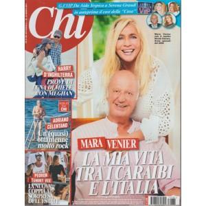CHI - settimanale n.35 16 Agosto 2017 - Mara Venier con il marito Nicola Carraro