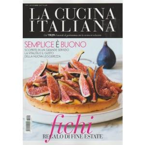 Cucina Italiana - mensile n. 9 Settembre 2017 - FICHI regalo di fine estate