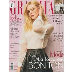 Grazia - settimanale n.35 - Agosto 2017 - Elle Fanning - 19 anni Attrice