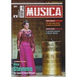 Musica - n. 301 - novembre 2018 - mensile