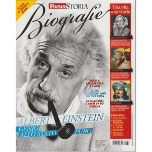 "Speciale: Focus Storia Biografie - Albert Einstain ""Genio allo stato puro"""